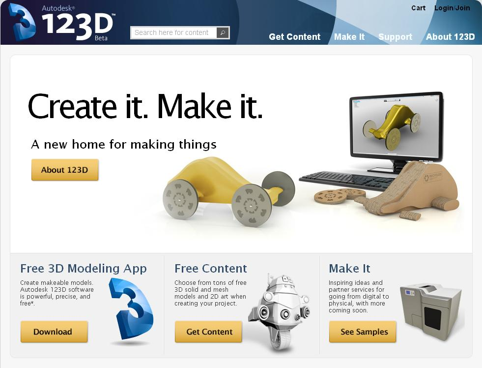 Estudio logos autodesk 123d software gratis para dise o for Software diseno de interiores gratis