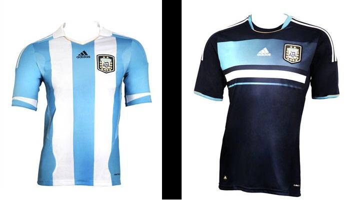 Estudio Logos Nueva Camiseta De Fútbol Argentina 2011 Diseño Innovador Y Alta Tecnología