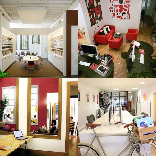 Estudio Logos | Diseño de interiores: oficinas con espacios ...
