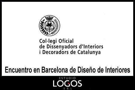 Estudio logos encuentro en barcelona de dise o de interiores for Curso diseno de interiores barcelona