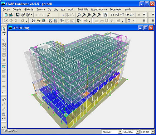 Estudio logos etabs un programa para dise o de for Programa para hacer edificios en 3d