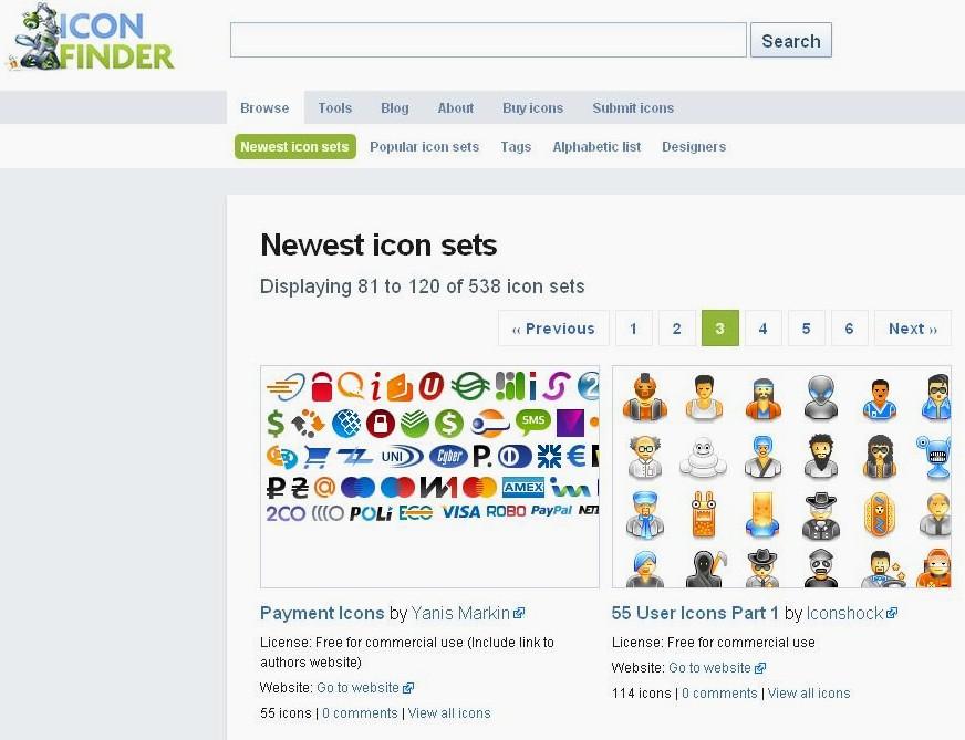 efdeb71525a17 Habitualmente en Internet figuran una gran cantidad de sitios con una  extensa variedad de íconos para descargar