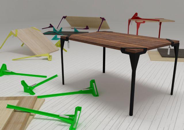 Estudio logos se conoci el ganador del concurso for Muebles de diseno industrial